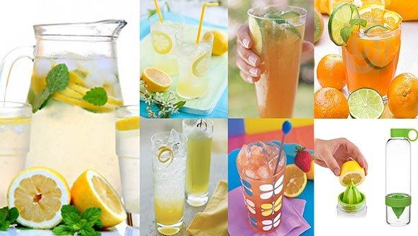Цитрусовые прохладительные напитки домашний лимонад рецепт