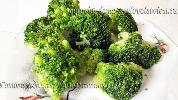 как готовить капусту брокколи