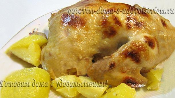Курица в маринаде в духовке рецепт