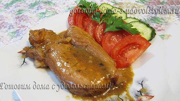 свинина в соевом соусе