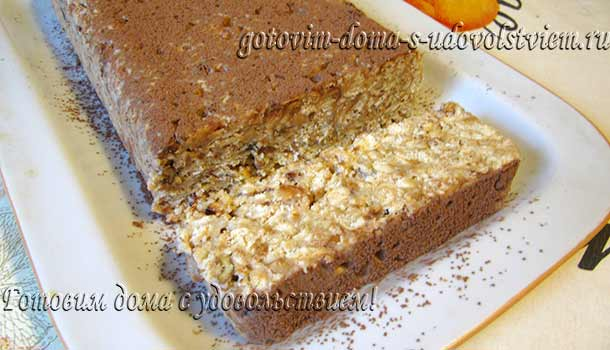 торт без выпечки из печенья и сгущенки и сметаны