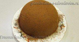 торт из печенья и сгущенки без выпечки