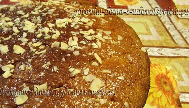 Пирог на кефире с манкой рецепт
