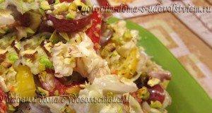 праздничный салат из пекинской капусты рецепт
