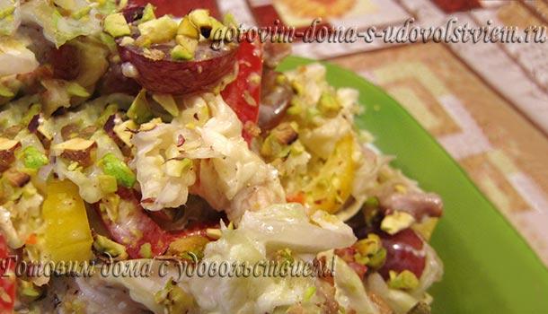 легкий салат из пекинской капусты вкусный рецепт