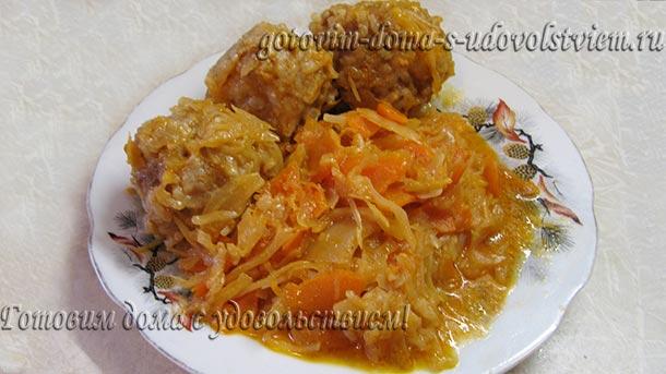 мясные ежики с рисом рецепт