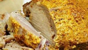 свинина-в-духовке-сочная-и-мягкая большим куском