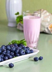 черника йогурт