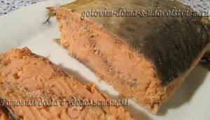 Рыба приготовленная методом сувид