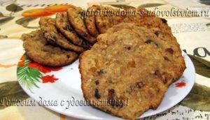 Овсяное печенье - несколько любимых рецептов