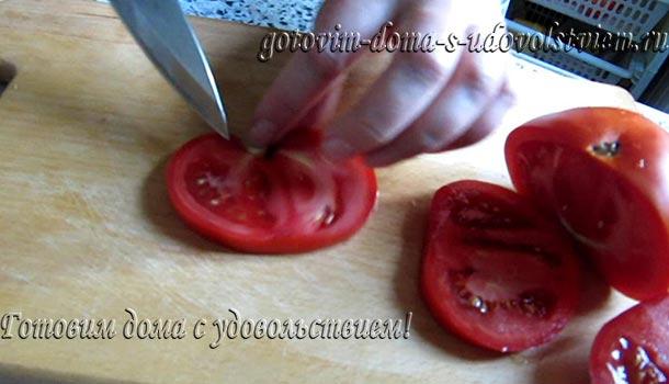 фото нарезки помидоров