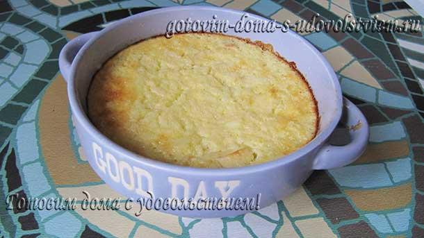 Рисовый пудинг рецепт в духовке с яблоками и корицей