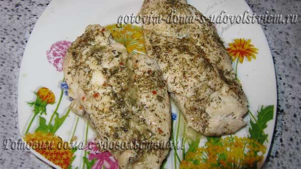 рецепт куриной грудки томленой