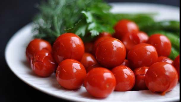 помидоры черри маринованные на зиму очень вкусные сладкие