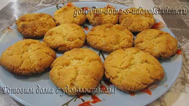 Простой рецепт сахарного печенья