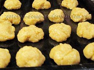 овсяное печенье домашнее простой рецепт с кокосом выложить на противень