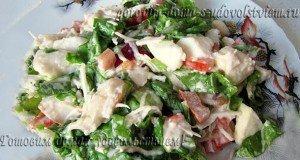 салат из корня сельдерея и фруктов