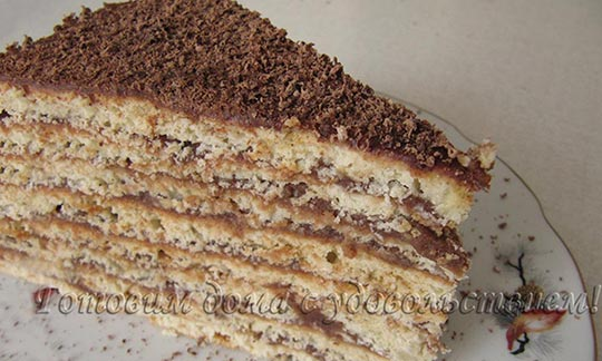 армянский торт Микадо классический рецепт