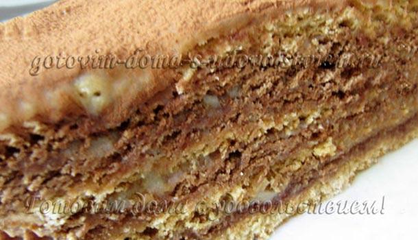 торт Рыжая лиса