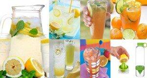 Цитрусовые прохладительные напитки