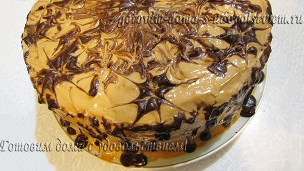 торт дамские пальчики со сметанным кремом рецепт