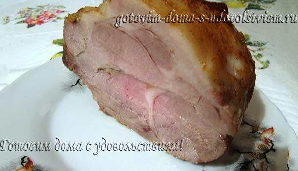свинина запеченная в рукаве