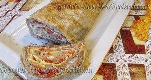 рулет из армянского лааша