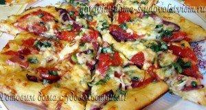 рецепт пиццы мясное ассорти