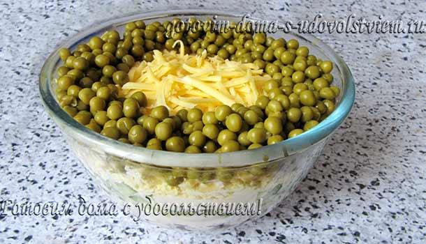 кукуруза сыр зеленый горошек