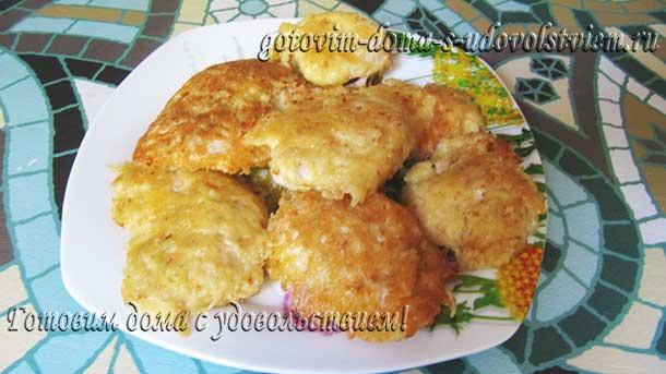 рецепт куриной грудки в кляре на сковороде