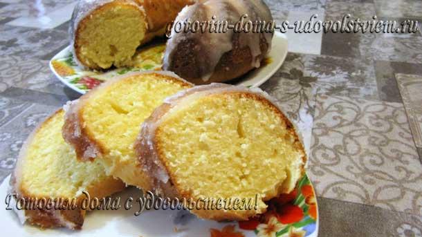 творожный кекс рецепт в духовке