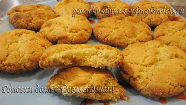 печенье с тахинной пастой