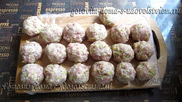 Тефтели с рисом рецепт приготовления в кастрюле для заморозки