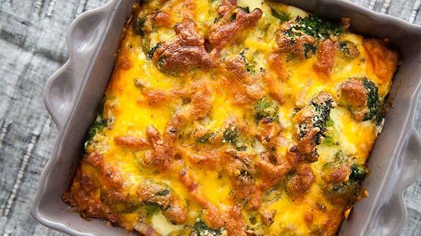 брокколи рецепты приготовления на сковороде с сыром и яйцом